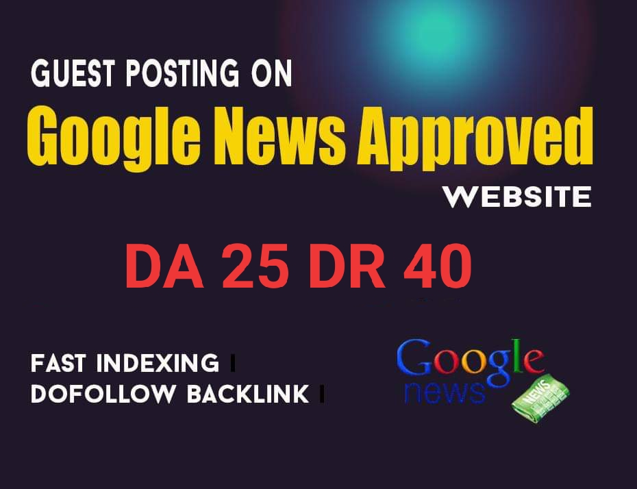 I will do guest post dr 39 my google news approved website