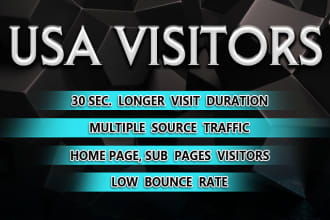 2000 Real Human Targeted USA traffic to your Website - Google Adsense safe and Good Alexa rank