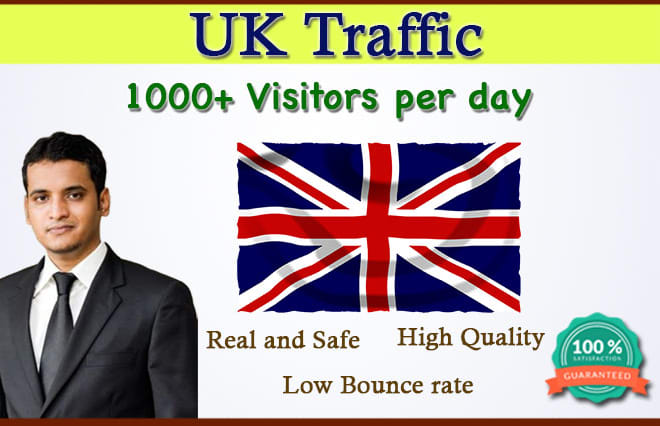I will Send 15,000 UK targeted organic traffic to your website