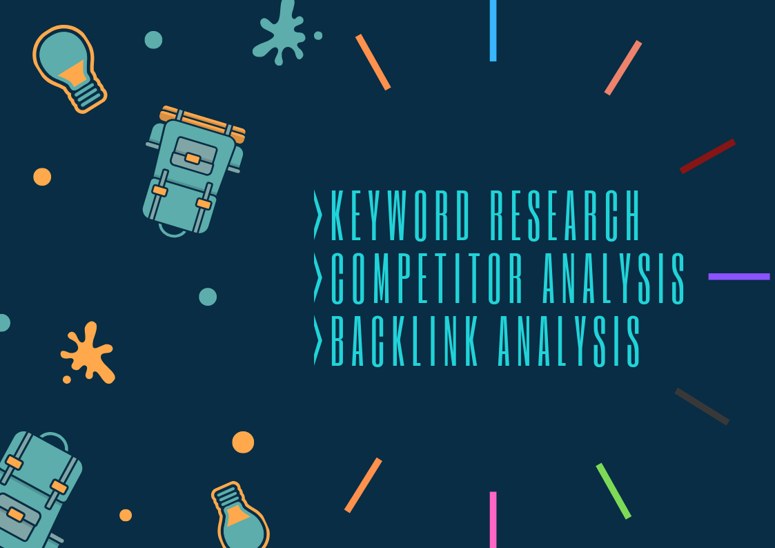 will do keyword research and competitor analysis