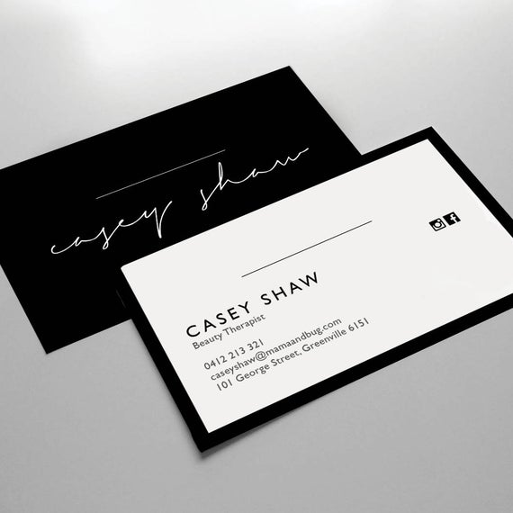 Cheap and Reliable Business Card