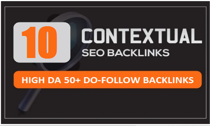 build manually 10 contextual do follow backlinks da 50 plus