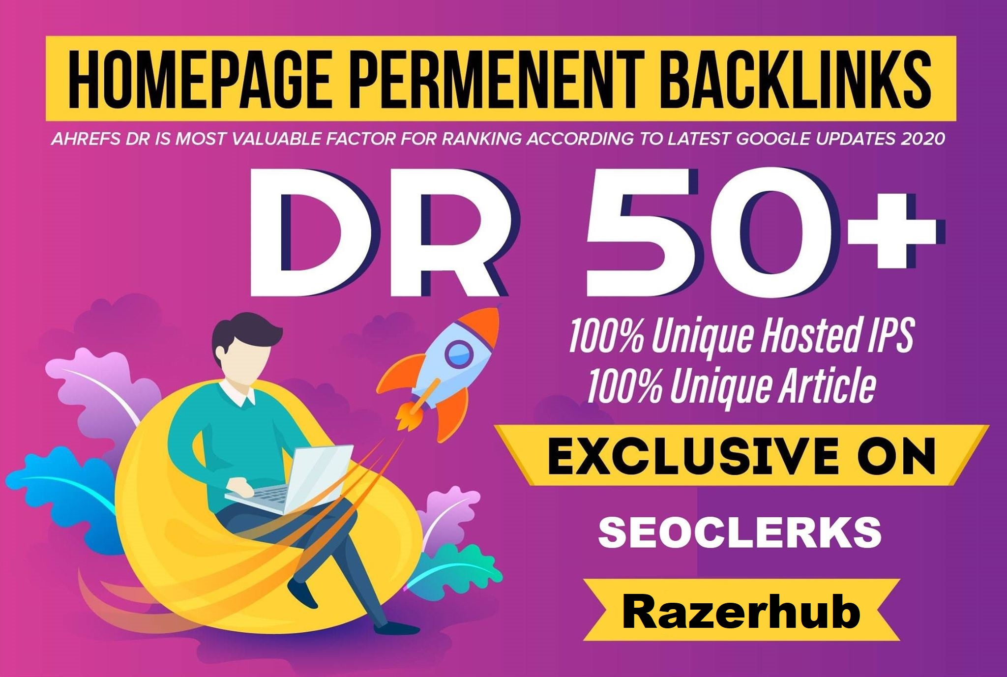 build 14 Manual dr50 plus homepage pbn dofollow Unique backlinks