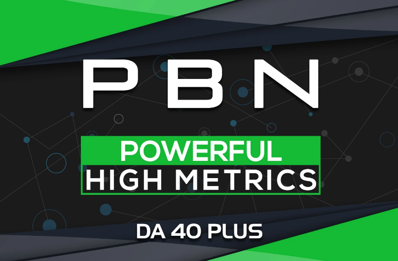 build 5 homepage pbn backlinks da40 plus