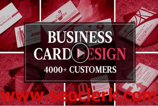Within 24 hours create an amazing and unique business card