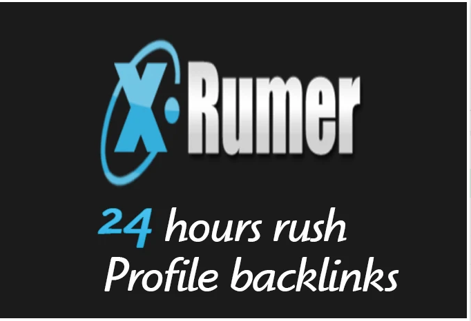 I will create 6000 profile backlinks with xrumer