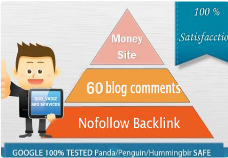 I will create 60 blog comments nofollow backlink