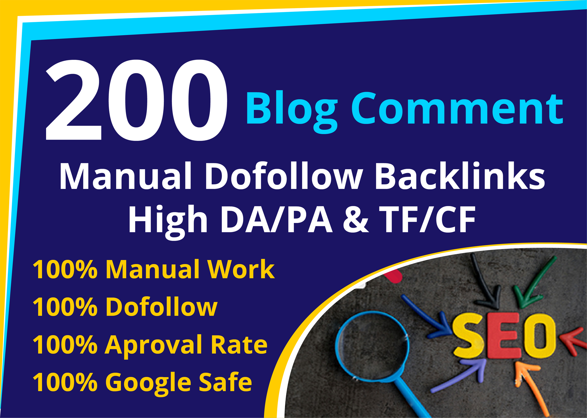 200 dofollow blog comment backlink high quality