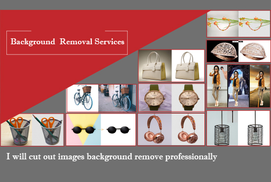 I will do cut out images background remove professionally