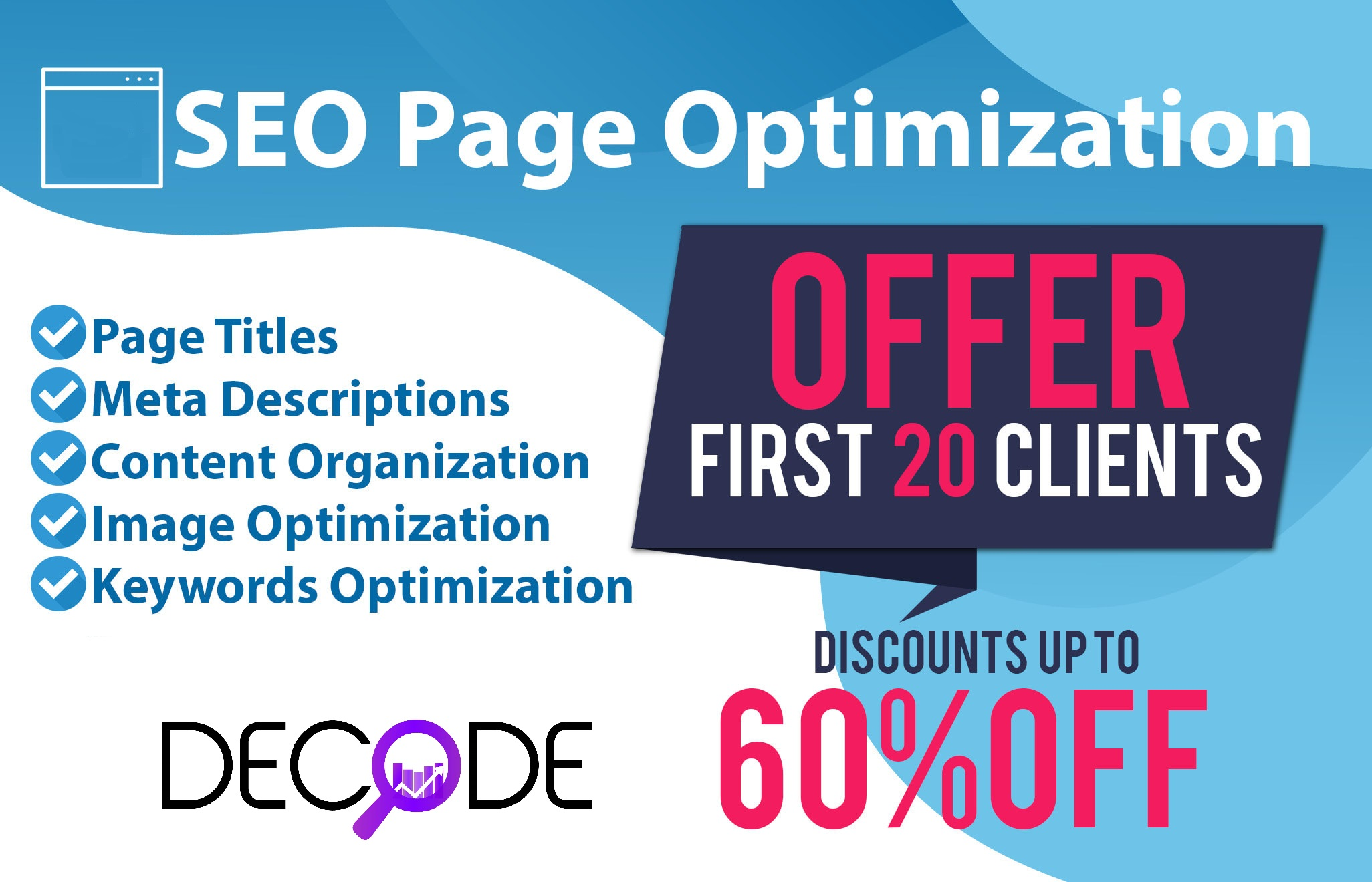 The Complete On-Page Optimization Package - Extensive Keyword Research & Competitor Analysis