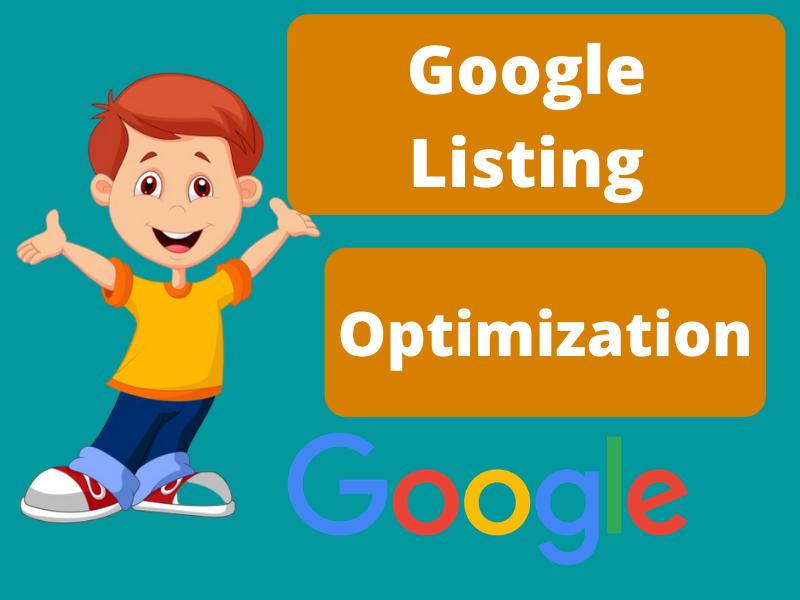 Google Listing - I will create an optimize google listing