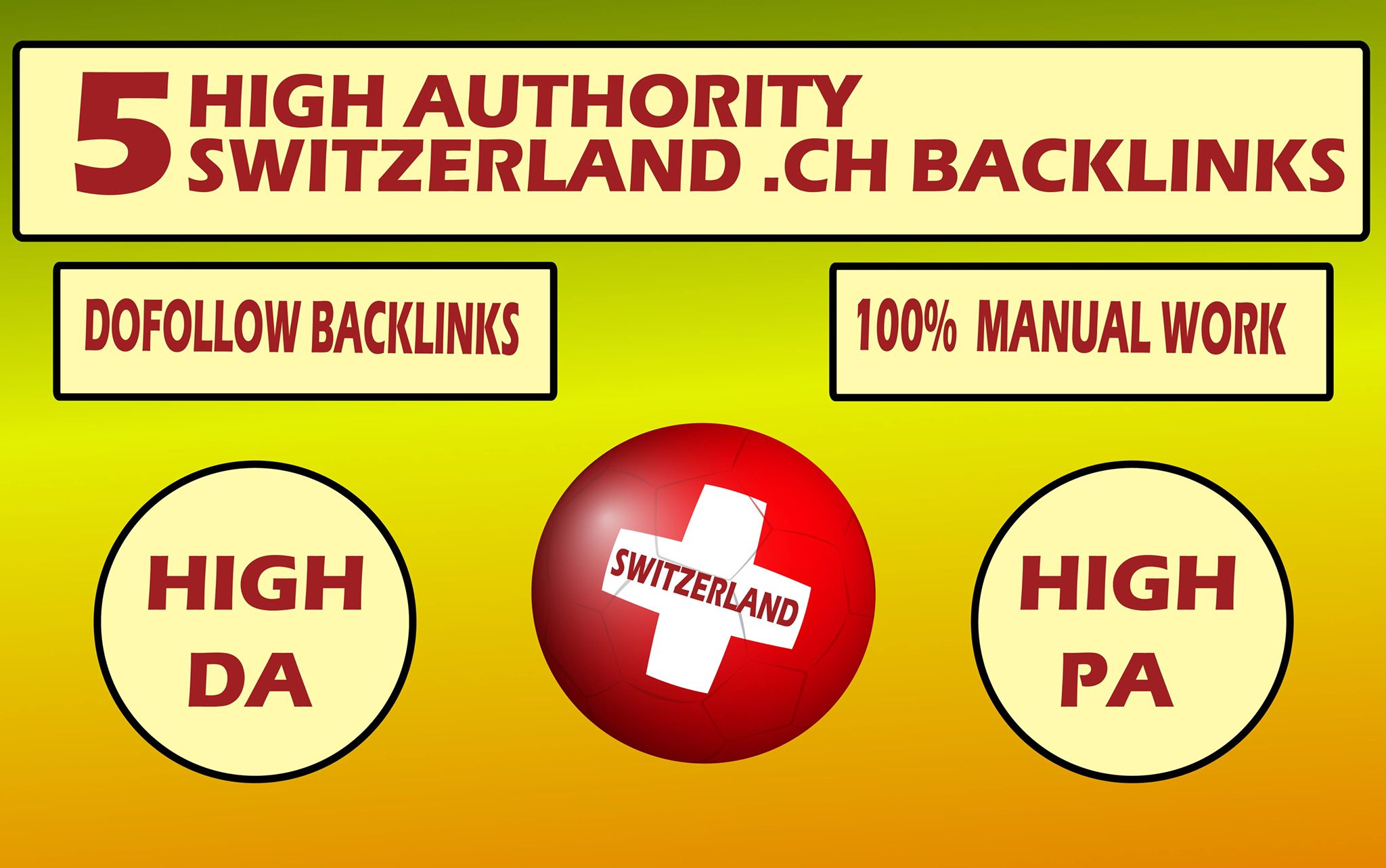 do 5 high authority switzerland blog dot ch backlinks with high da