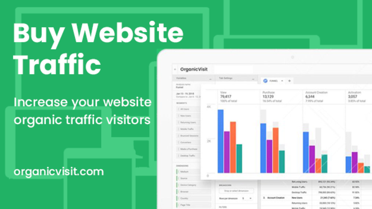Buy Website Traffic &ndash Increase Organic Traffic & Real Visitors