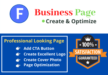 Create Professionally Facebook Business page