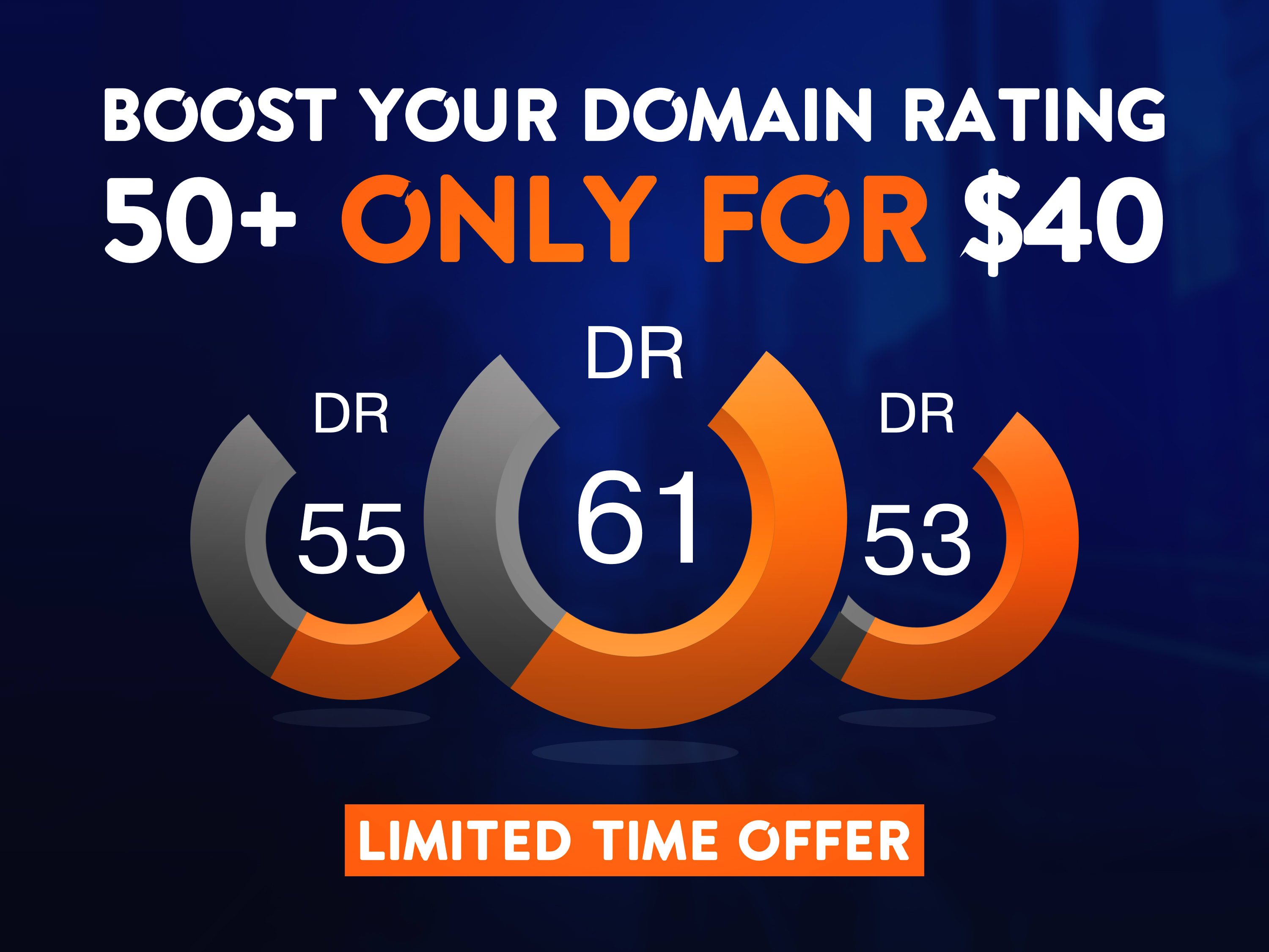 I will Increase Ahref Domain Rating,Ahref DR upto 40+