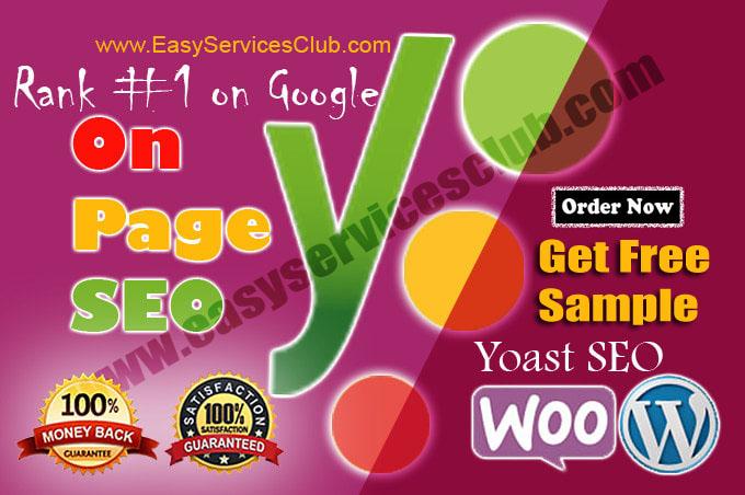 I will do onpage optimization wordpress on page SEO yoast services