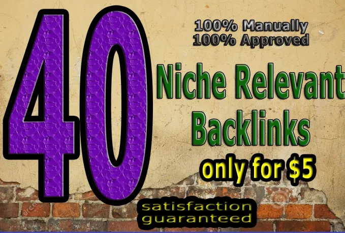 I will do create 40 niche blog comments nofollow backlinks