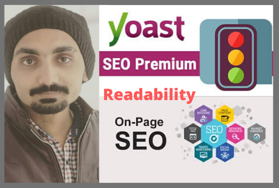 I will do yoast wordpress onpage SEO with green article readability