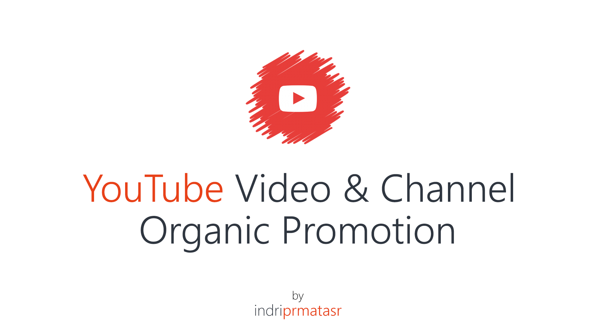 Targeted Youtube Promotion Package REAL Audience Market