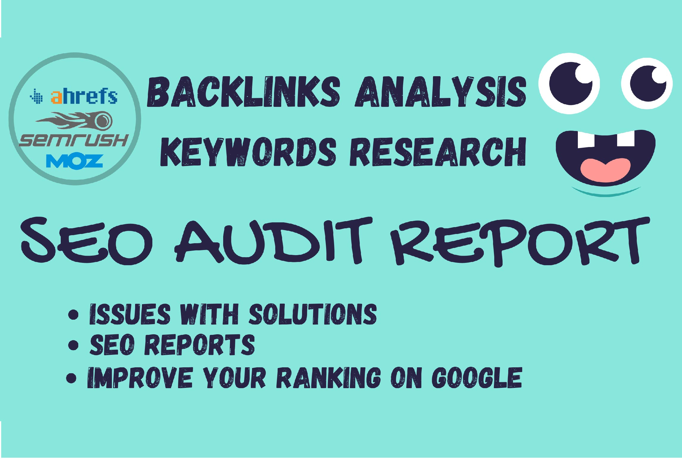 I will provide complete seo audit report of your website