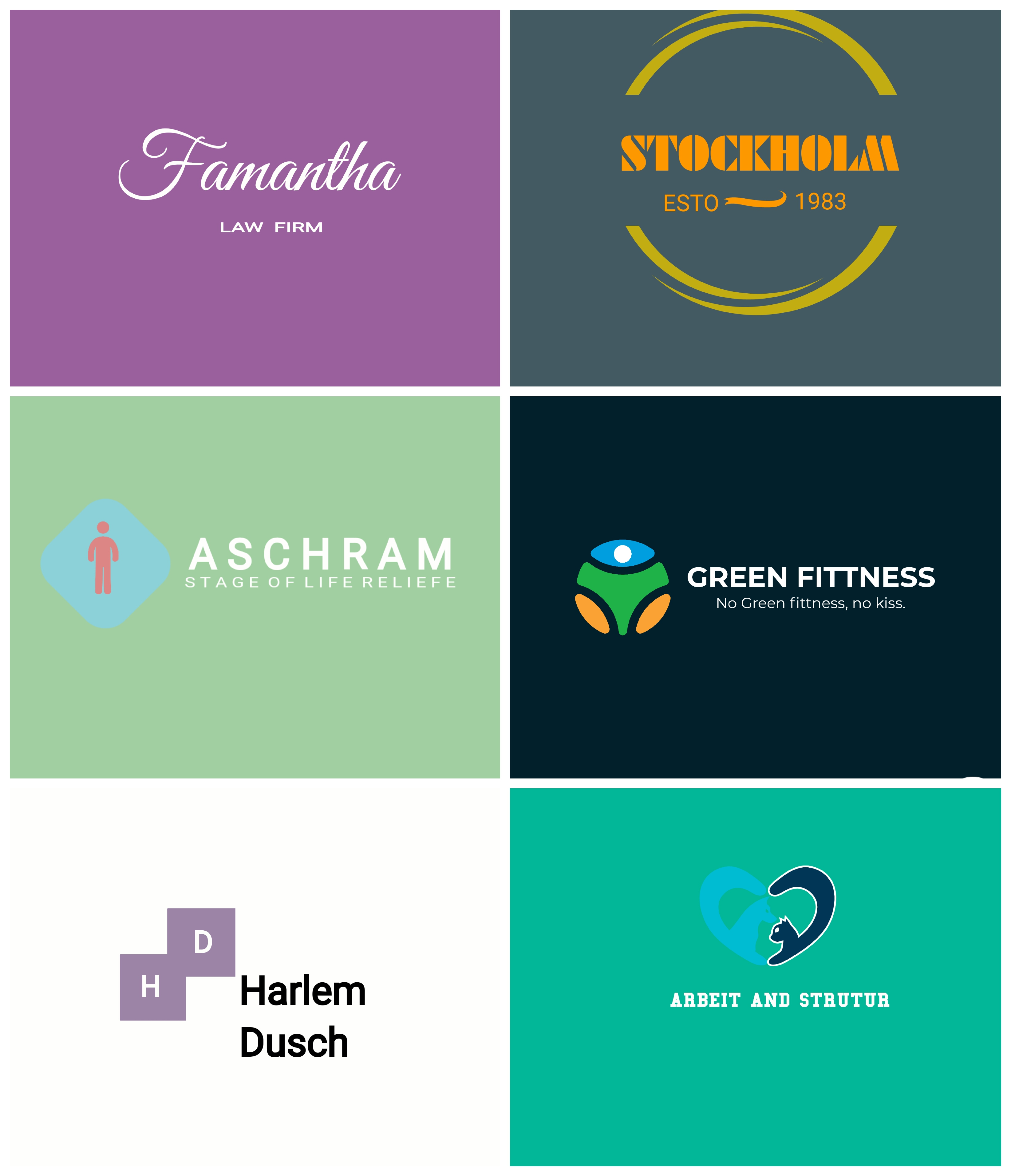 Professional logo design for your business. Logo is must be unique and creative.
