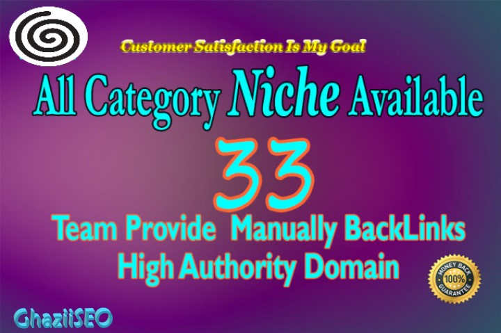 I will do 33 niche relevant blog comment all niche are accepted