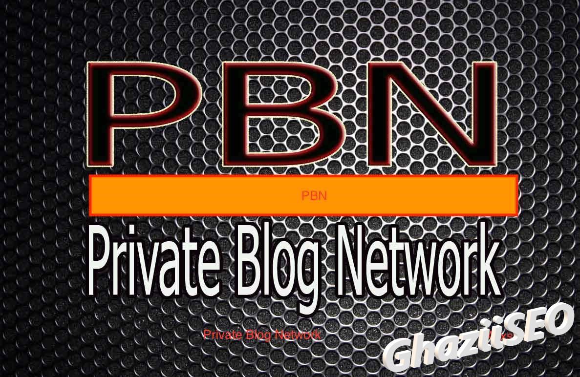 I will do 05 homepage DA50+ PBN permanent backlinks