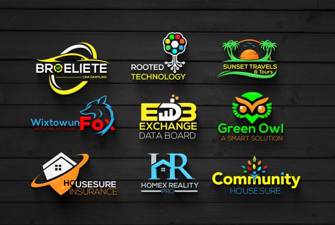 I will design unique and modern business logo