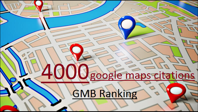 Rank your business to top 4000 google maps citations GMB Ranking
