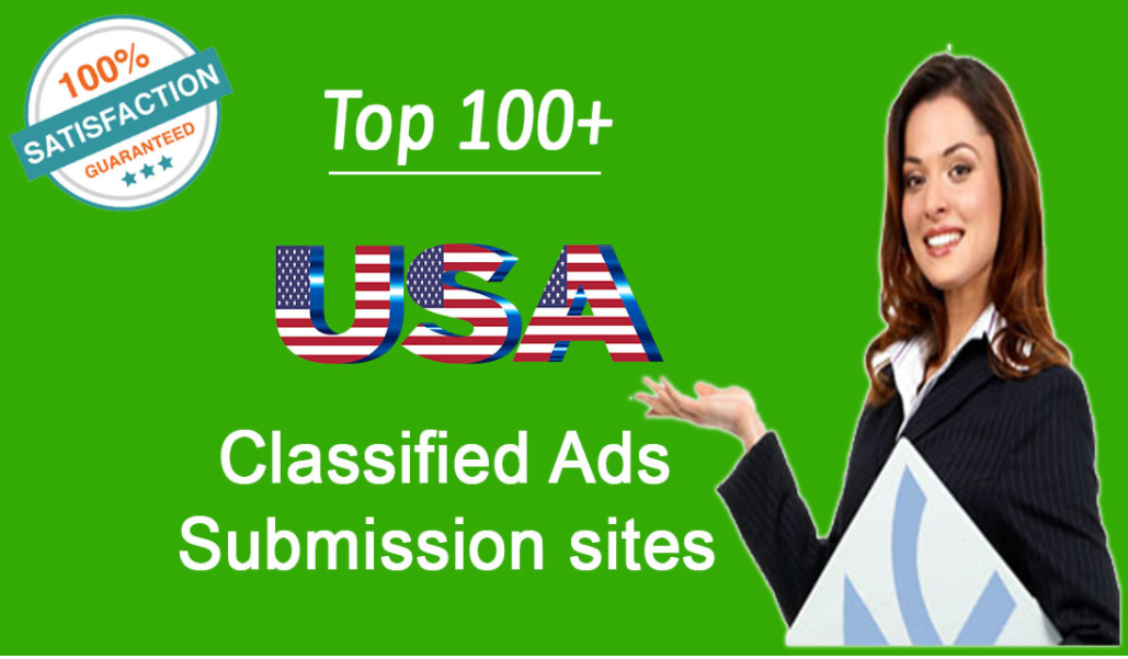 classified add submission 100 Backlinks USA best sites