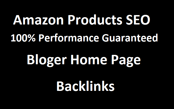 i will creat home page blog post 50 Backlinks for your amazon products & your website