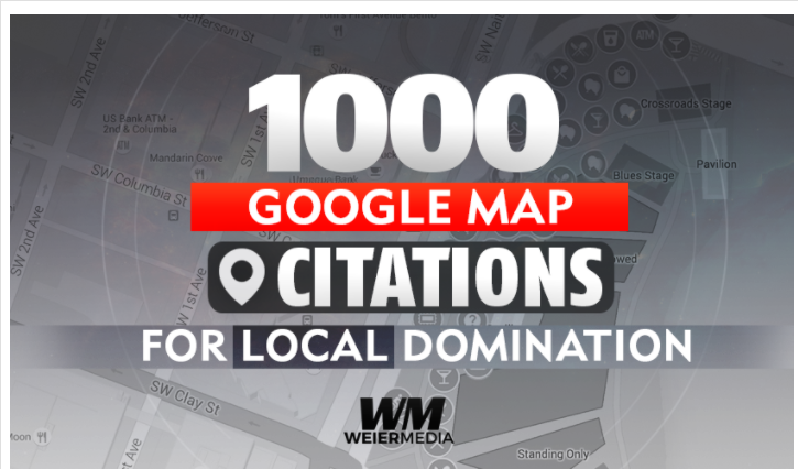 Local DOMINATION with 1000 Google Map Citations