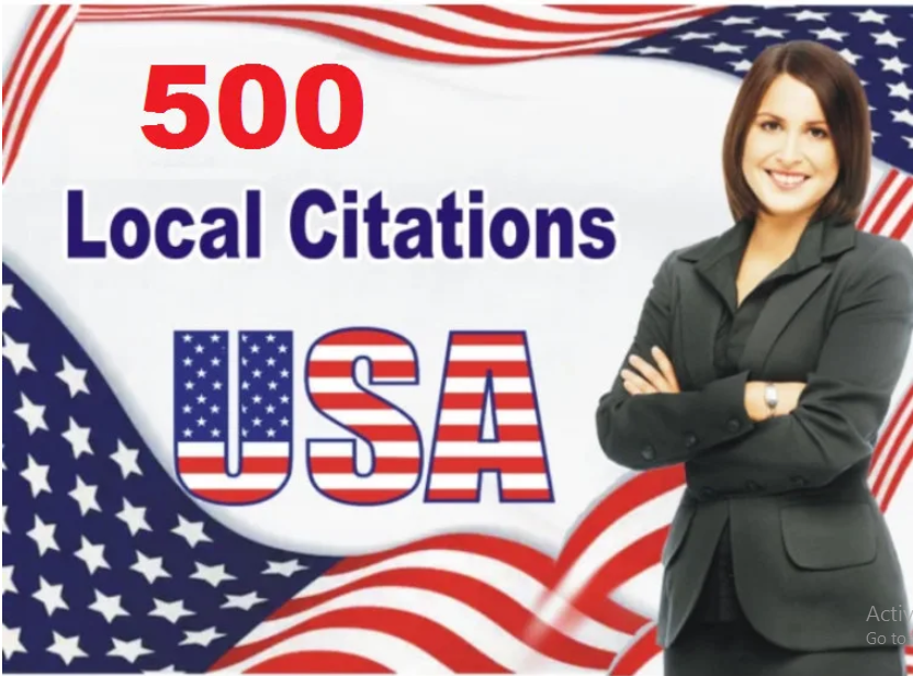 I will do top 500 USA local citations and directory submission
