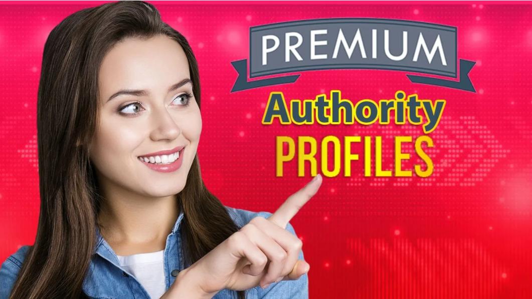 high authority profile 20 backlinks best website raking sites linkbuilding service