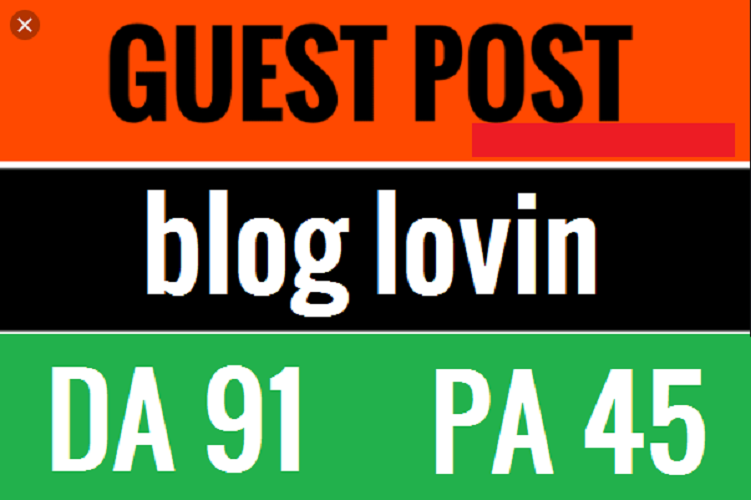Write And Publish Guest Post On BlogLovin.Com