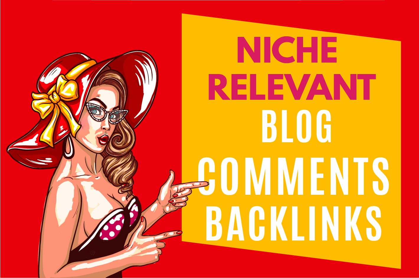 I will provide 105 niche relevant blog comments