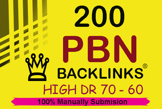 200 Permanent DR 74+ Homepage High Quality PBN Backlink