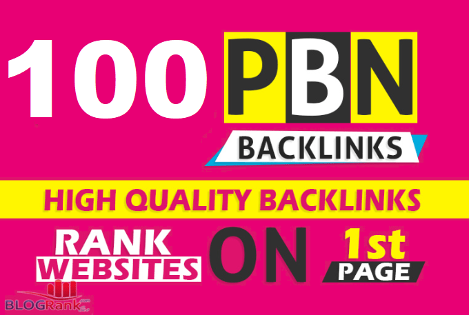 Create 100 Permanent DR 66 Homepage PBN Dofollow Backlink
