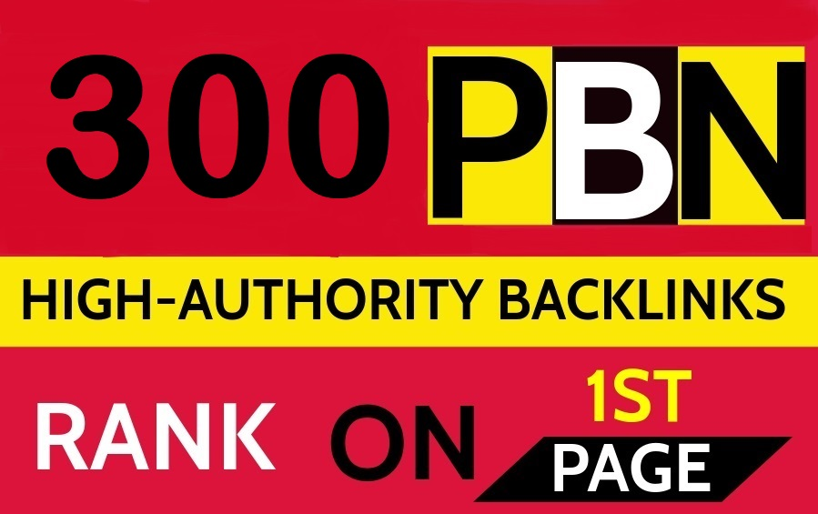 Create 300 Permanent DR 74 Homepage high quality PBN Dofollow Backlink