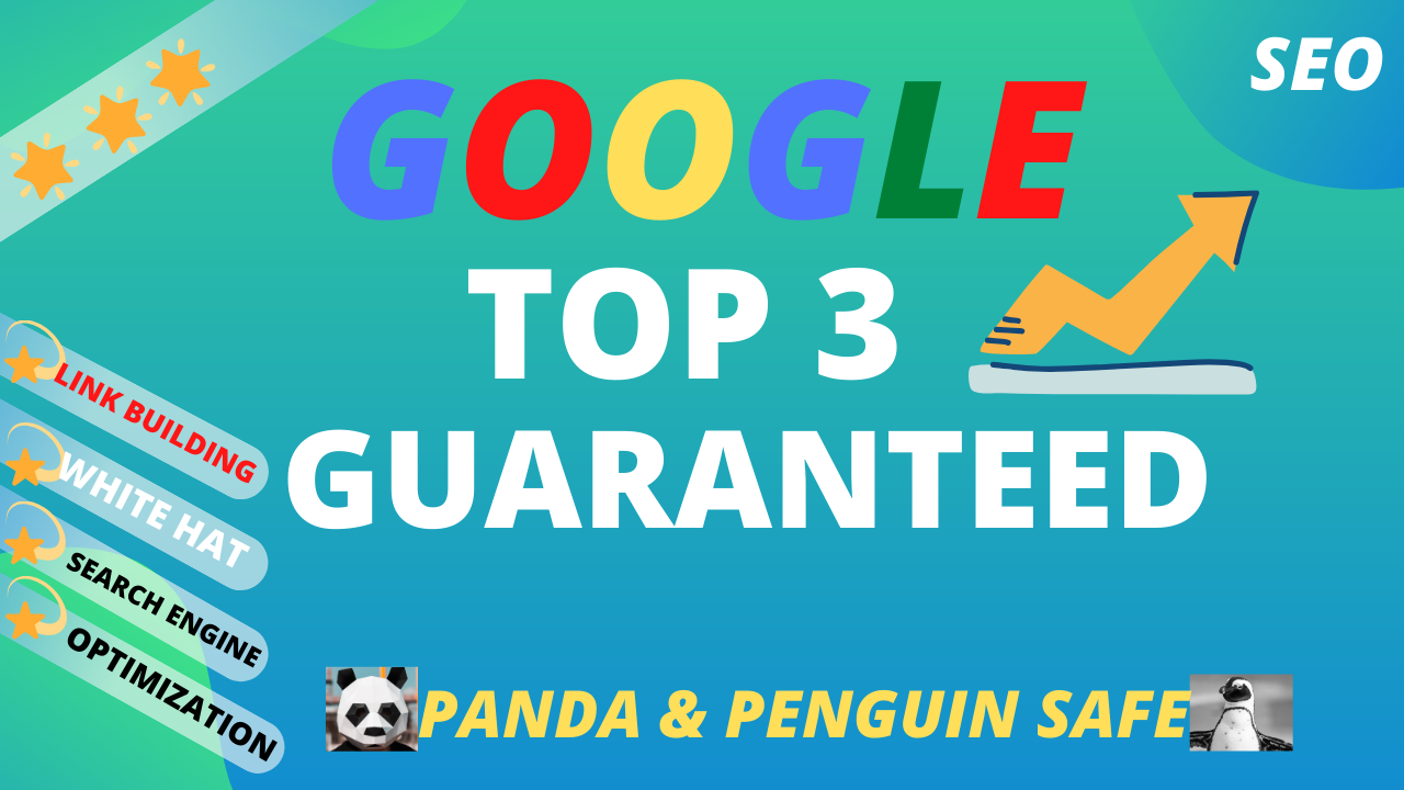 RANK GOOGLE TOP 3 GUARANTEED - February Update 2021