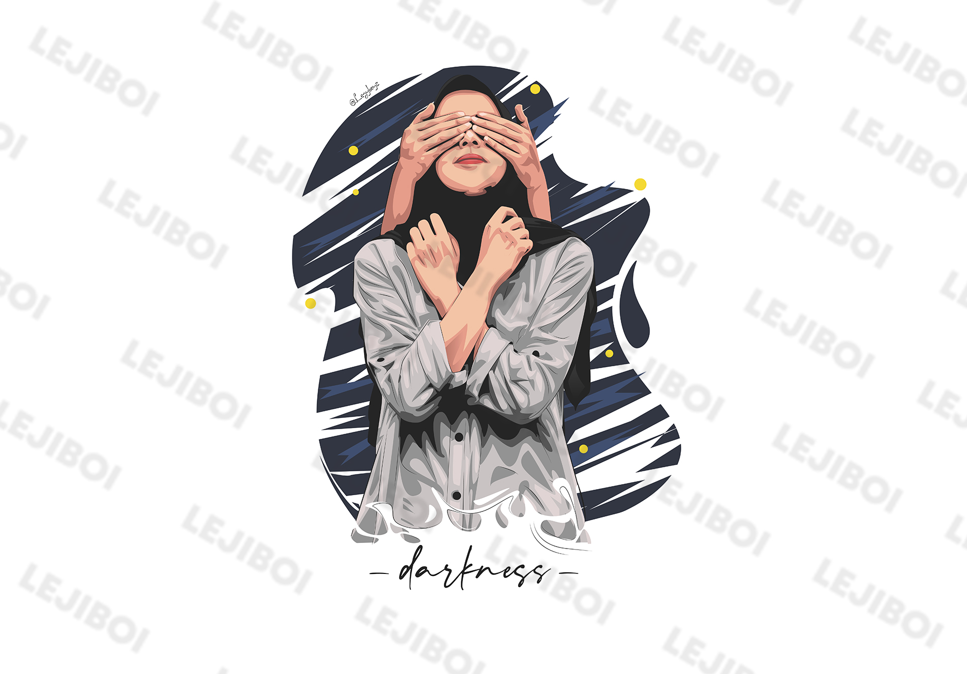I Can Make Vector Portrait Ilustration Kind This Style From Your Picture With No Watermark