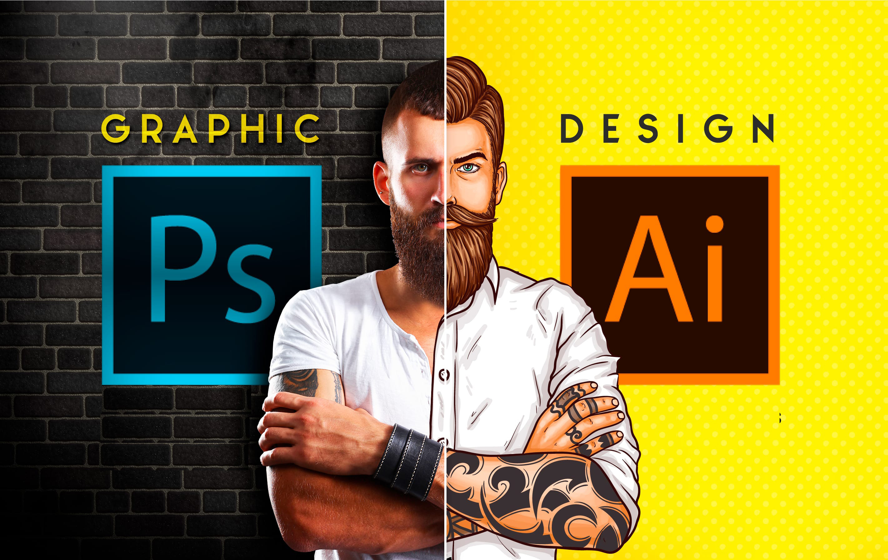 I will create any kind of graphic design work