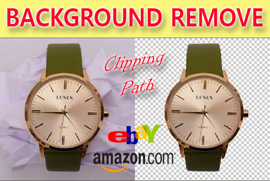 I will professionally remove background 100 images white/transparent