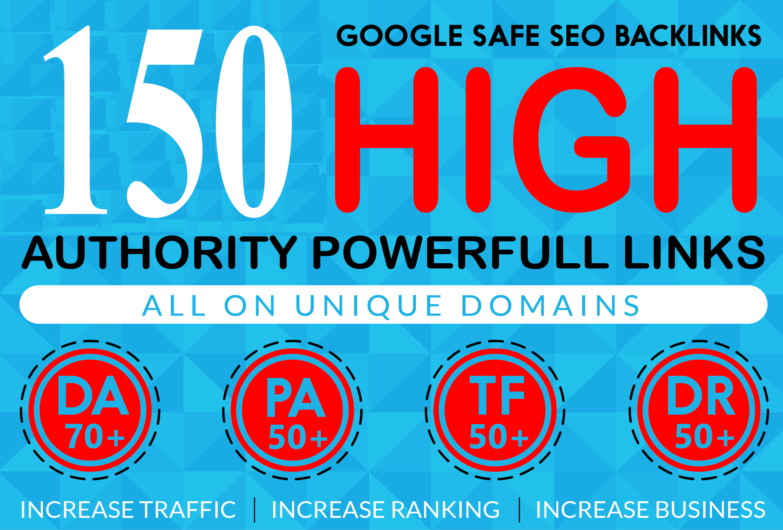 150 Backlink web 2.0 with permanent dofollow Trustfollow on High DA PA & Unique Site
