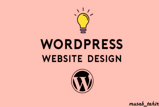 I will design and build a wordpress website