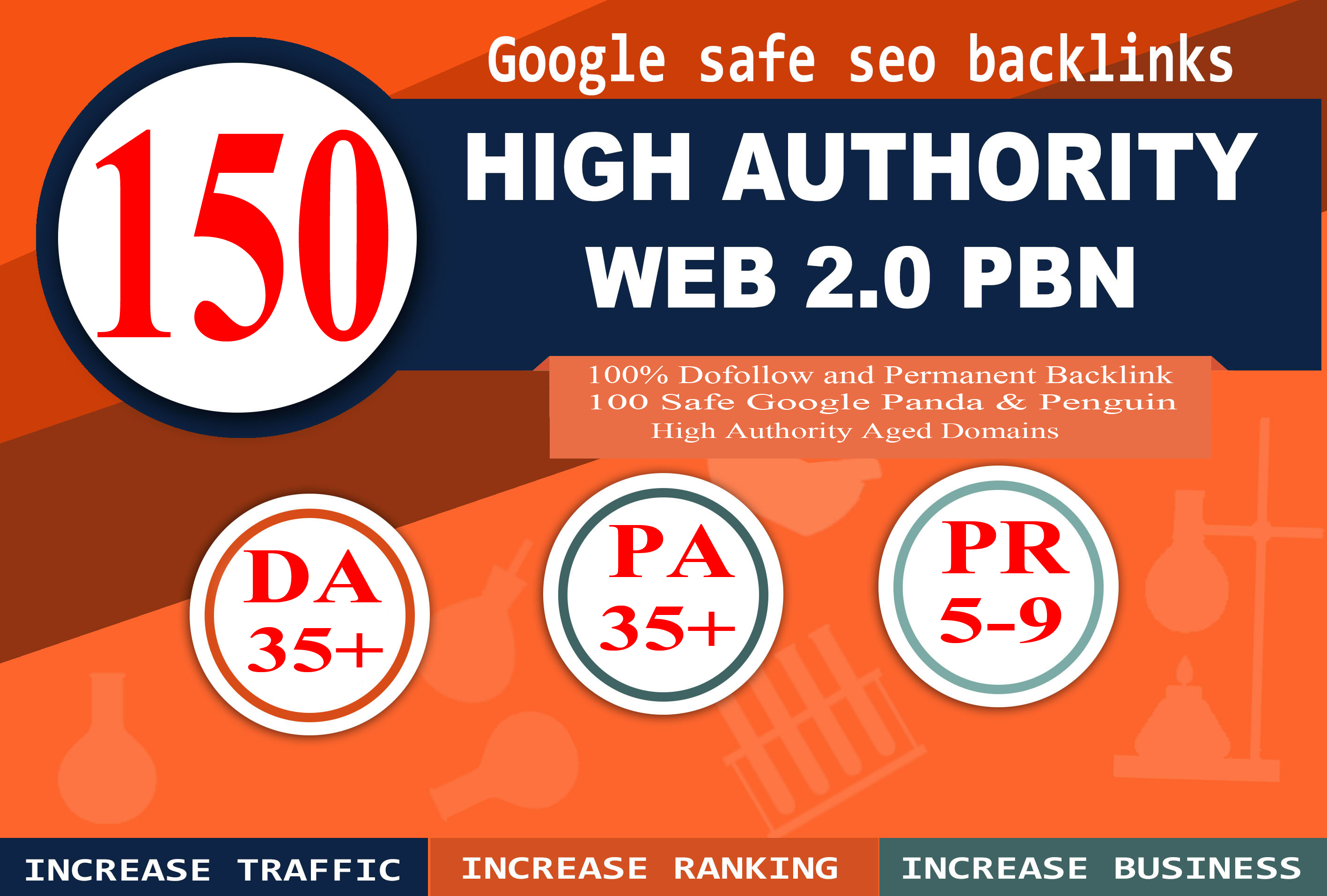 I Will Do Provide DA 35+ PA 35+ web2.0 150 pbn in unique 150 site