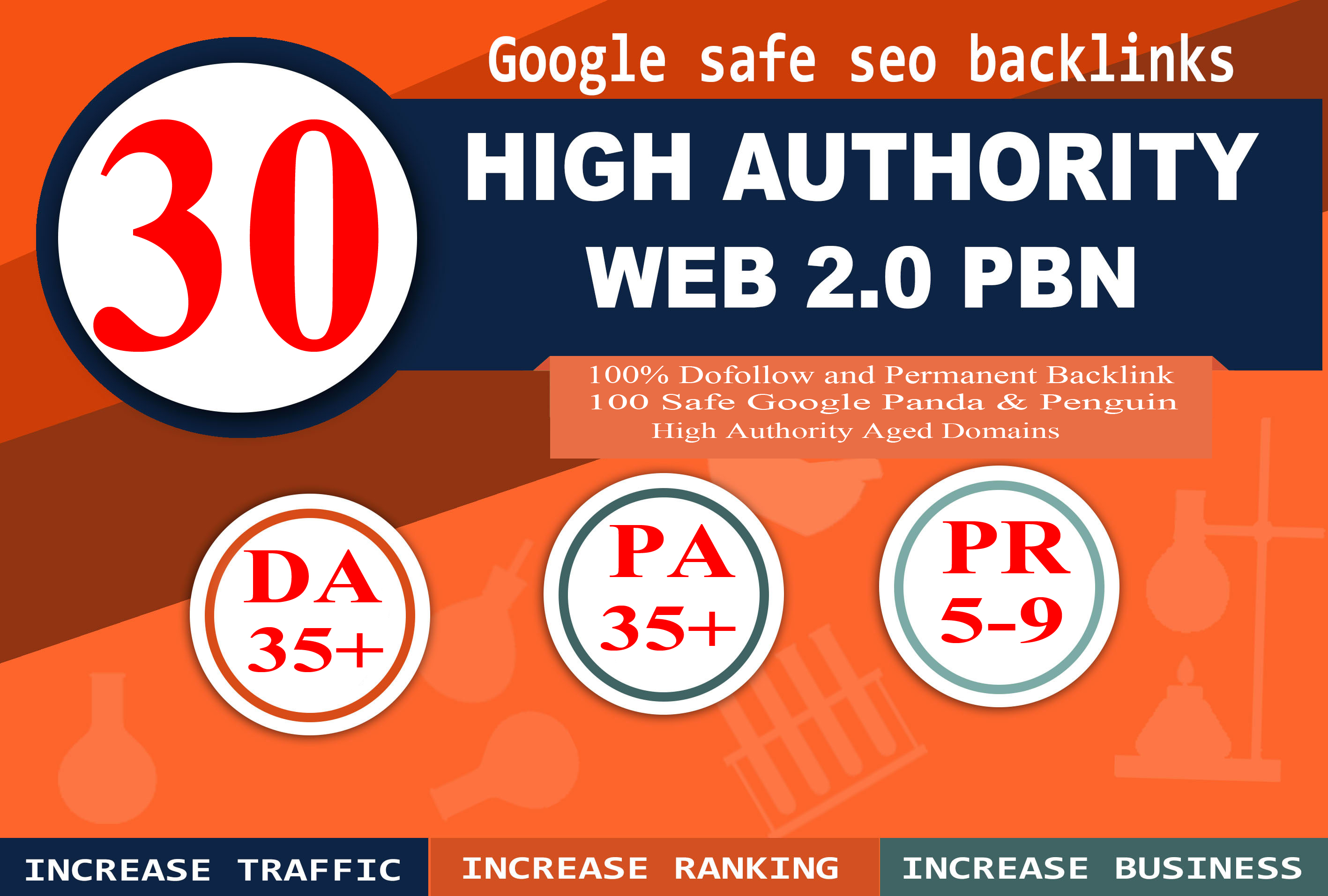 Create 30+ Permanent Backlink with High DA/PA/TF/CF On your homepage with web2.0