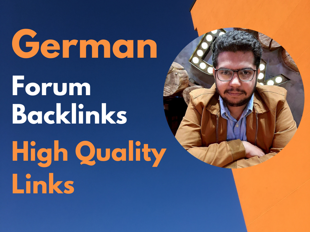10 german forum backlinks high quality backlinks