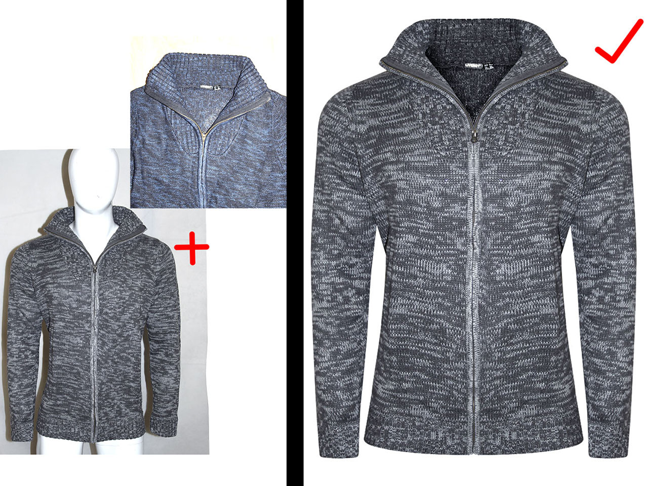 Remove background, Edit & Retouch 5 photos for online shop / E-commerce