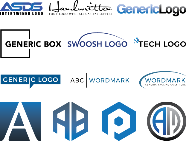 modern Wordmark and lettermark logo
